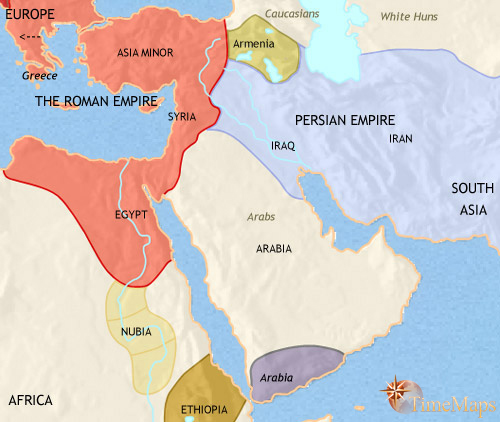Map Of Asia In 500 Ad.Maps 0200ad 0500ad Middle East Four Corner Ministries 4cm