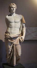 Statue of Alexander in Istanbul museum