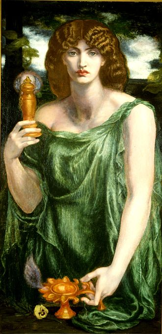 330px-Mnemosyne_(color)_Rossetti